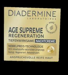 Diadermine Age Supreme Regeneration Tiefenwirksame Nachtcreme krem na noc skóra dojrzała
