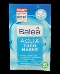Balea Aqua Tuch-Maske nawilżająca maseczka do twarzy cera sucha
