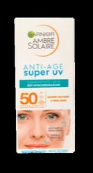 Garnier Ambre Solaire Sonnencreme Gesicht, Anti-Age super UV krem ochronny skóra dojrzała filtr 50+