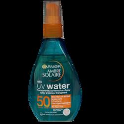 Garnier Ambre Solaire UV Water transparentes Sonnenschutz-Spray transparentrny spray ochronny filtr 50