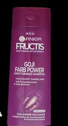 Garnier Fructis Farb Power szampon włosy jagody Goji, polifenole