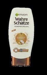 Garnier Wahre Schätze Wahre Schätze Kokosmilch & Macadamia Spülung odżywka mleko koksowe i orzechy macadamia