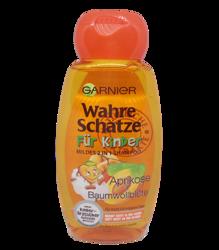 Garnier Wahre Schatze szampon morela, bawełna dla dzieci