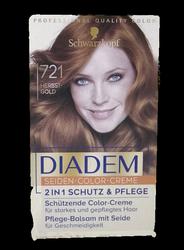 Schwarzkopf Diadem Herbst Gold nr 721 farba do włosów jesienne złoto