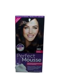 Schwarzkopf Perfect Mousse  Permanente Schaumcoloration Brownie farba nr 365