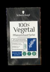Schwarzkopf Pflanzenhaarfarbe Natürliches Schwarz farba roślinna naturalna czerń