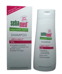 Sebamed Shampoo Trockene Haut 5% Urea Akut szampon skóra sucha 5% mocznik