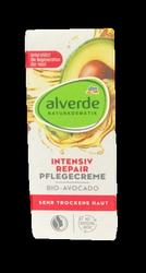 alverde Tagespflege Intensiv Repair Avocado intensywnie regenerujący krem na dzień awokado cera bardzo sucha