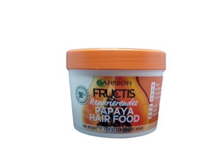 Garnier Fructis pflegendes Papaya Hair Food 3in1 Maske maska, odżywka, kuracja 3w1 papaya