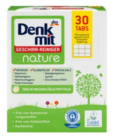 Denkmmit Spülmaschinentabs Nature ekologiczne tabletki do zmywarki 30 szt.