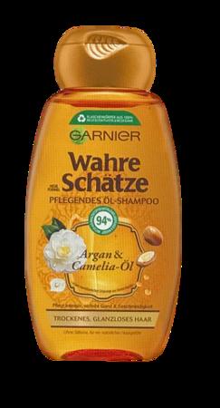 Garnier Wahre Schätze Argan und Camelia  Öl Shampoo szampon olej arganowy