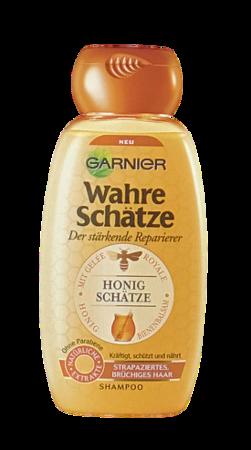 Garnier Wahre Schätze Shampoo Honig Geheimnisse miodowy szampon do włosów