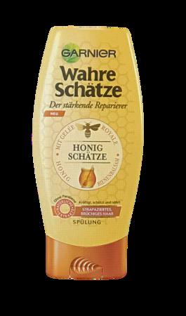 Garnier Wahre Schätze Spülung Honig Geheimnisse miodowa odżywka do włosów