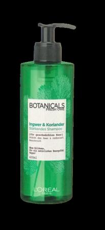 Loreal Botanicals Fresh Care Shampoo Koriander Stärke-Kur szampon do włosów kolendra