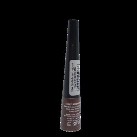 Manhattan Cosmetics Dip Eyeliner waterproof Brown wodoodporny eyeliner do oczu brąz 93W