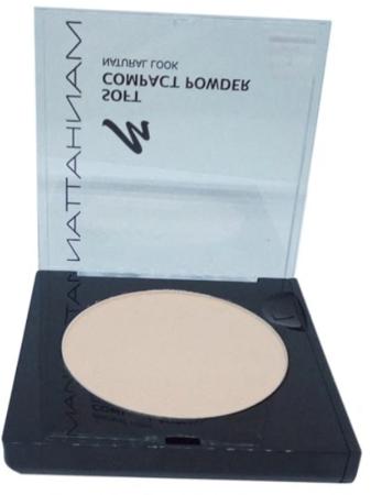 Manhattan Cosmetics Gesichtspuder Soft Compact Powder Soft Beige 03 puder delikatny beż nr 03