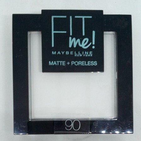Maybelline Fit Me! Matte und Poreless uder Translucent 90 puder matujący nr 90 przezroczysty