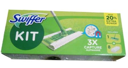 Swiffer Staubwischer Bodenstab S.Set+8 Tücher mopd od czyszczenia podłogi + 8 wkładów