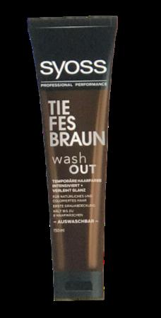 Syoss Tönung washout Tiefes Braun krem tonujący głęboki brąz
