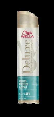 Wella Deluxe Haarspray Hydro Protect & Style extra stark bardzo mocny lakier nawilżający