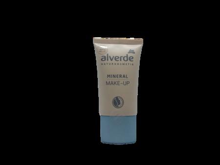 alverde Naturkosmetik Mineral Make-up naturelle podkład mineralny naturalny nr 01