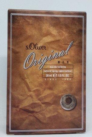 s.Oliver Eau de Toilette Original man woda toaletowa dla mężczyzn 30 ml